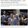 Come la Cina educa l'Africa – e che cosa significa per l'Occidente