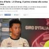 Il primo cinese al Giro d'Italia