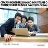 Cercasi Ingegnere, Chimico Industriale o Perito Tecnico Bilingue Ita-Cn Bologna