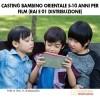 Casting Bambino Orientale 5-10 anni per Film (Rai e 01 Distribuzione)