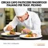 Cercasi Pasticcere Fingerfood Italiano per Trasferimento a Pechino