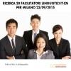 Ricerca 30 Facilitatori Linguistici IT-CN per Milano 23.09.2015