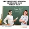 Cercasi Insegnanti di Italiano e Insegnanti di Cinese a Reggio Emilia