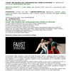"""Promozione per lo spettacolo """"Faust: Una Ricerca Sul Linguaggio Dell'opera Di Pechino"""""""