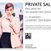 Private Sale dal 5 al 14 Maggio – Fidenza Village