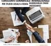Consulente commerciale internazionale  per studio legale a Roma (M. Cinese)