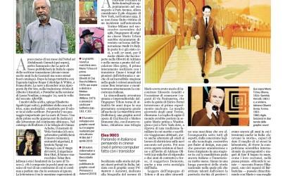 Mario Tchou sul Corriere della Sera 25 Ottobre 2021