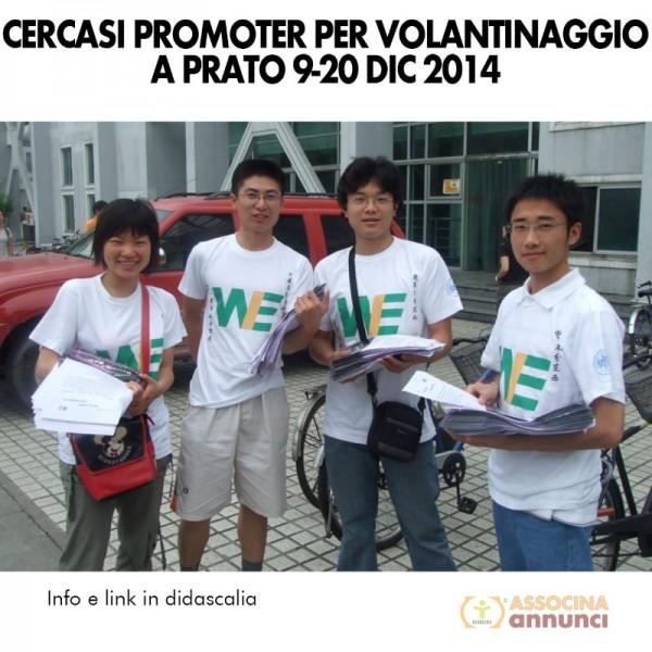 Cercasi Promoter Prato Nov 2014