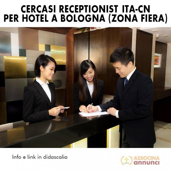 Receptionist Hotel Bologna