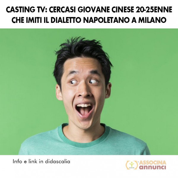 Casting tv Gennaio 2015
