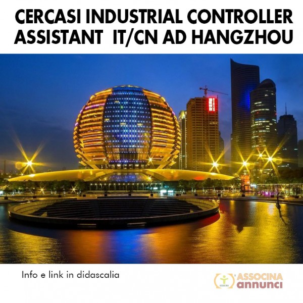 Cercasi-assistente-it-cn-hangzhou