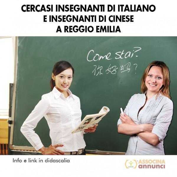 Cercasi Professori Reggio Emilia