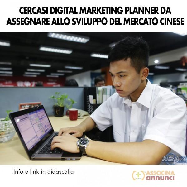 Cercasi Digital Marketing Cinese