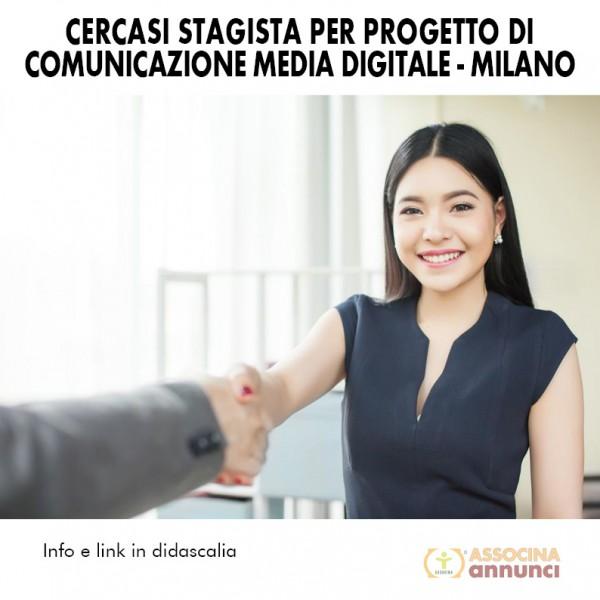Cercasi Stagista per progetto di comunicazione media digitale - Milano