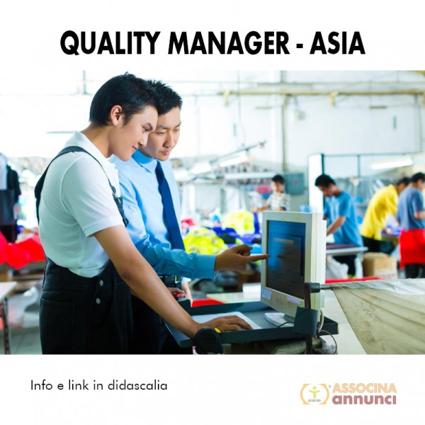 Quality manager - Asia