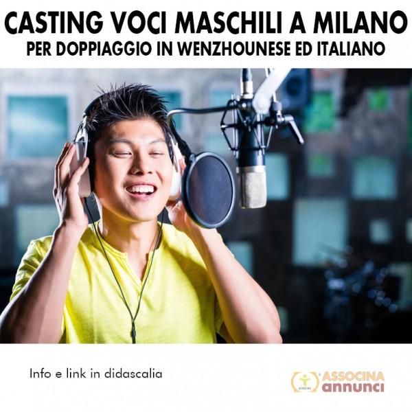 Casting Voci Maschili a Milano