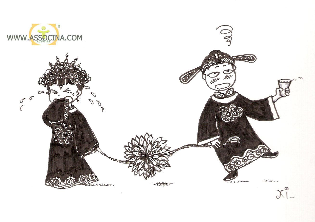 Auguri Matrimonio Vignette : Associna vignetta il matrimonio