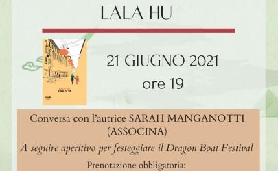 """Presentazione del libro """"Semi di tè"""" di Lala Hu @ Aspirin Lifestyle Bookstore (Milano) lunedì 21 giugno 2021"""